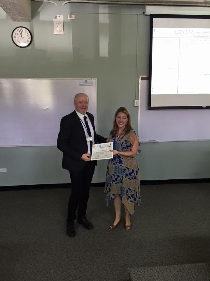 SOHO was honored to be part of the GITAD (Grupo Iberoamericano de Trabajo en Analisis Forense de ADN) annual meeting