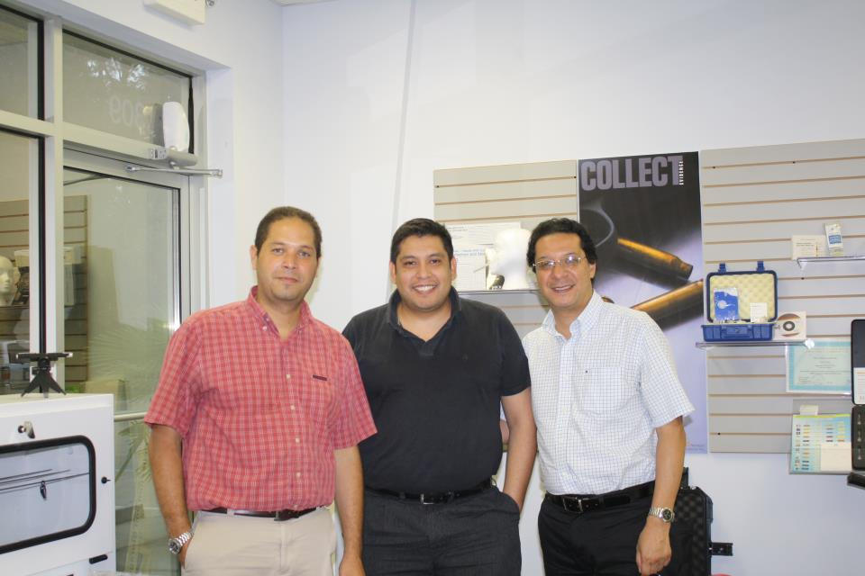 Visit from our customer from Argentina/Colombia